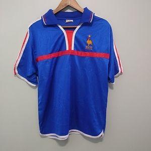 3/25$ Zidane FRANCE soccer mens shirt